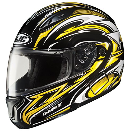 HJC CL-MAXBT II Atomic Bluetooth Modular Motorcycle Helmet (MC-3, XX-Large)