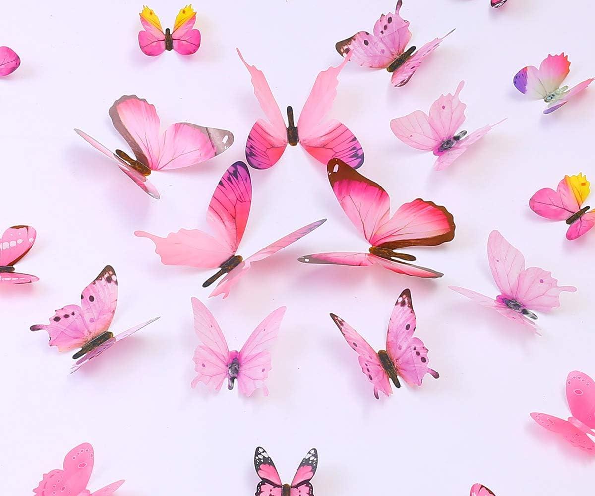 36PCS Butterfly Wall Decals Popular overseas - Butterflies OFFicial store Remov Stickers 3D