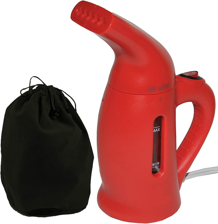 送料無料(一部地域を除く) Sunbeam Red お買い得品 800W Handheld Steamer Garment One-Touch Operation