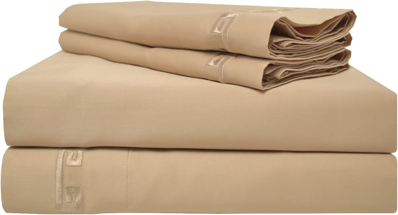 SUPERIOR Los Angeles Mall 600 Thread Count Long-Staple Combed Pocket Free shipping anywhere in the nation Cotton Deep