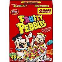 ポストフルーティー小石グルテン無料朝食シリアル、40オンスバッグ Fruity Pebbles Gluten Free Breakfast Cereal, 40 Oz Bag
