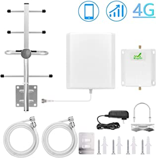Cell Phone Signal Booster Verizon 4G LTE Cell Phone Signal Amplifier Cellular Repeater 700MHz Band 13 Signal Booster - Boost Mobile Data Signal for Home and Office