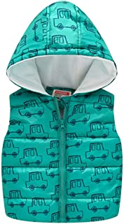 LONGDAY Kid Baby Hooded Zip Jacket Coat Casual Outerwear Rain Jacket Waterproof Long Sleeve/Sleeveless Windbreaker