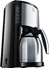 Melitta Look Therm Selection M661 BK SST, filterkaffemaskin med termoskanna, AromaSelector, svart