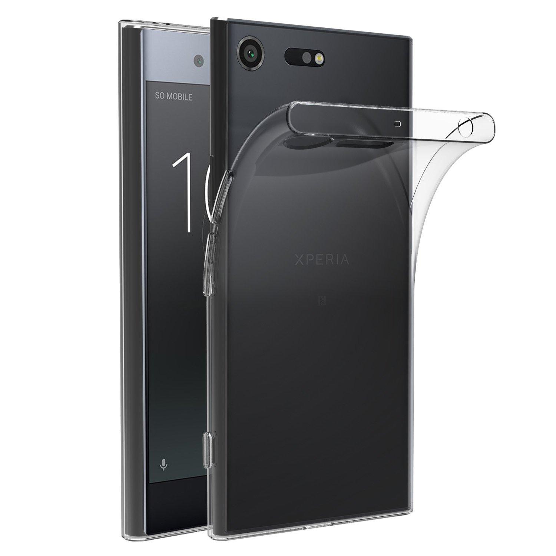 ivoler Funda Carcasa Gel Transparente para Sony Xperia XZ Premium ...