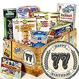 77 Geburtstag -- Geschenkbox -- zum 77 Geburtstag -- Ost Produkt Geschenkset -