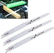 Juego de 2 hojas de sierra de sable Yintiod S644D HCS, para cortar, metal profesional