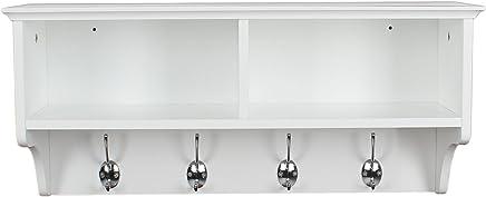 Amazon.es: Perchero con estante - Percheros de pared ...