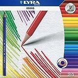 Lyra Osiris Tri Perm K24 2521240 - Astuccio da 24 matite Colorate di Forma Triangolare