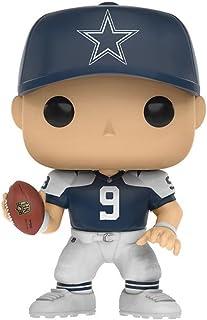 Funko POP. NFL Tony Romo Toys R Us Exclusivo Throw Back Jersey–Dallas Cowboys por Funko