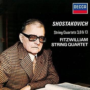 Shostakovich: String Quartets Nos. 3, 8 & 13