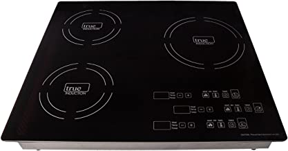 True Induction TI-3B Three Burner Cooker Counter Inset Portable Induction Cooktop