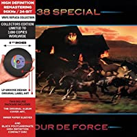 TOUR DE FORCE - Deluxe CD-vinyl replica, Cardboard Jacket, Import   Collector's Edition by 38 Special