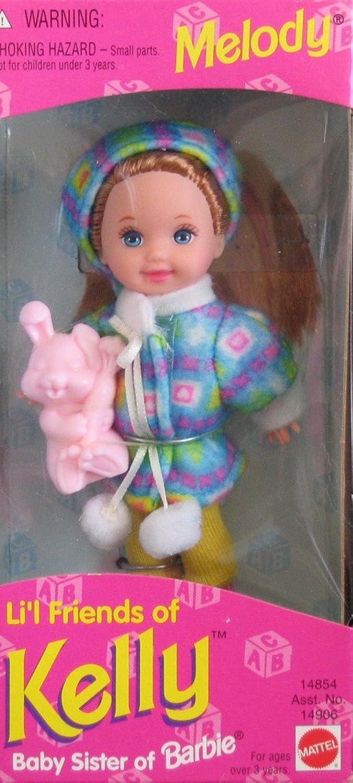 Barbie  Li'l Friends of Kelly  Melody Doll  1995