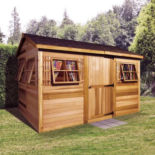 Cedarshed Shed 9 x 6 ft. Beach House Garden Shed