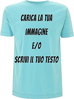 Generico t-Shirt da Stampare Personalizzare Maglietta Classica di Cotone Stampata con Inchiostro a Base d'Acqua Ultra Resi...