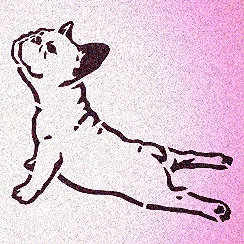 French Bulldog Stencil Pet Decor Dog Bulldogs Stencils