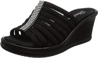 Skechers Cali Women's Rumblers Hot Shot Wedge Sandal