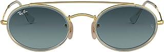 نظارات شمسية بيضاوية ماركة راي بان RB3847N