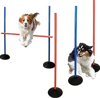 AKA Agility Training Set   Weave Pole & Hurdle 