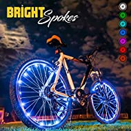 🌟 7 COLORS & 3 LIGHTING MODES: Just press the button and choose the color you want: Red, Blue, Green, Purple, Yellow, Cyan-blue or White. You can choose steady mode, automatically color change mode or pattern shuffle mode. Riding with our 20 LED high...