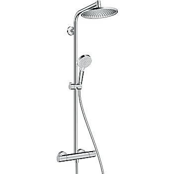 Hansgrohe 27268000 Crometta S 240 columna de ducha, 2 tipos de ...