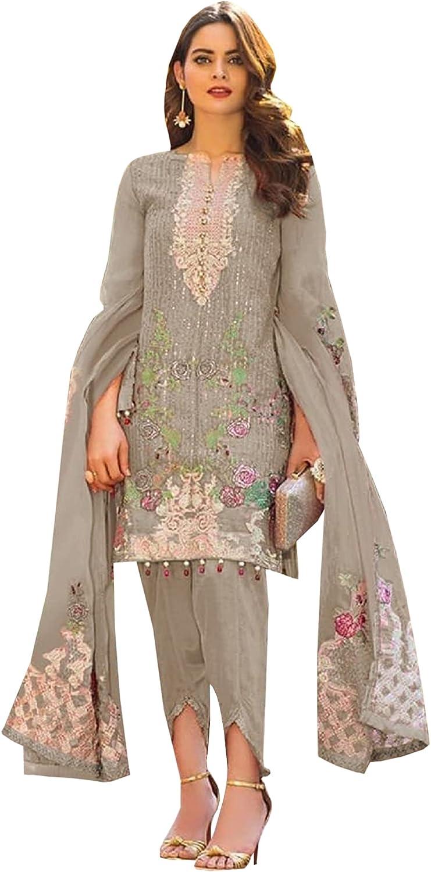 Stylish Women's Wear Salwar Kameez Trouser Pant Suits Embroidery Work Traditional Wear Dress