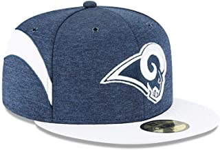 New Era Los Angeles Rams 2018 NFL Sideline Home Official 59FIFTY Fitted Hat – Navy/White