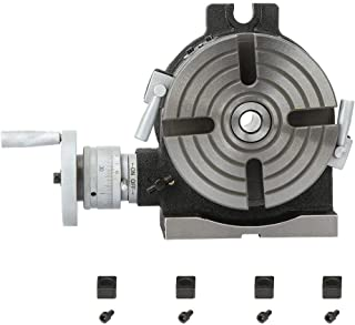 Horizontal Vertical HV6 Rotary Table, HV6 6 Inch Horizontal & Vertical Rotary Working Table Mill & Drill Machine