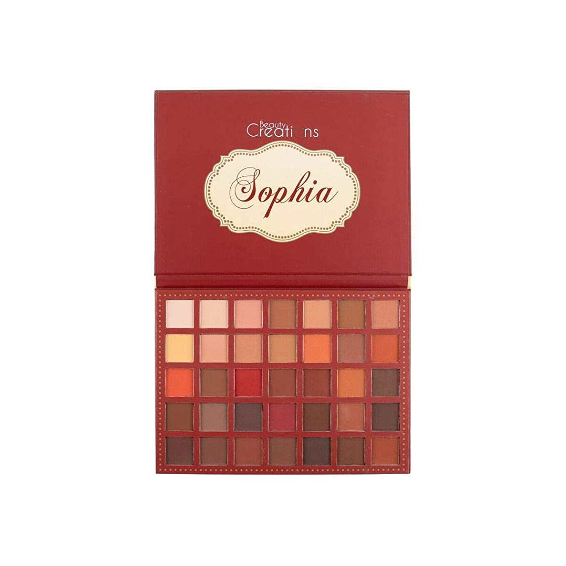 本体解説人柄BEAUTY CREATIONS 35 Color Eyeshadow Palette - Sophia (並行輸入品)