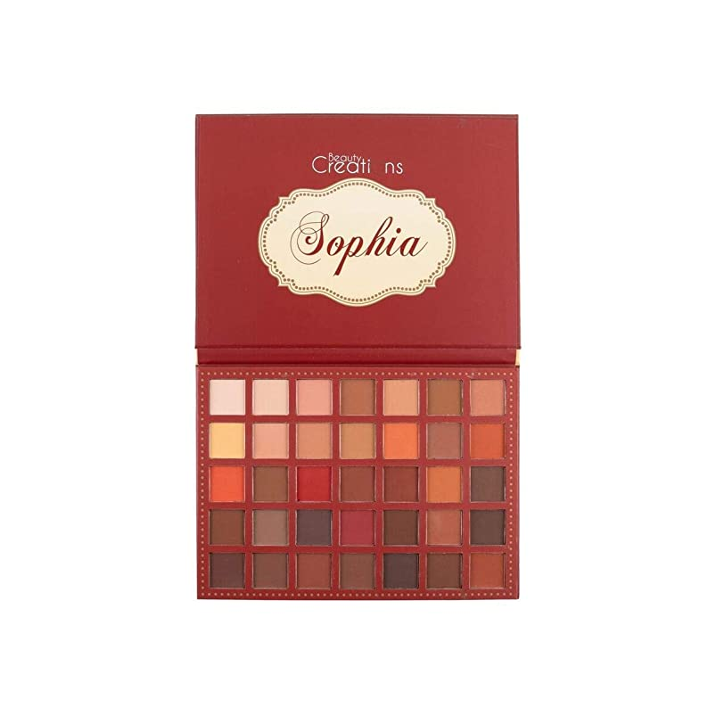 酸度なめる貫通BEAUTY CREATIONS 35 Color Eyeshadow Palette - Sophia (並行輸入品)