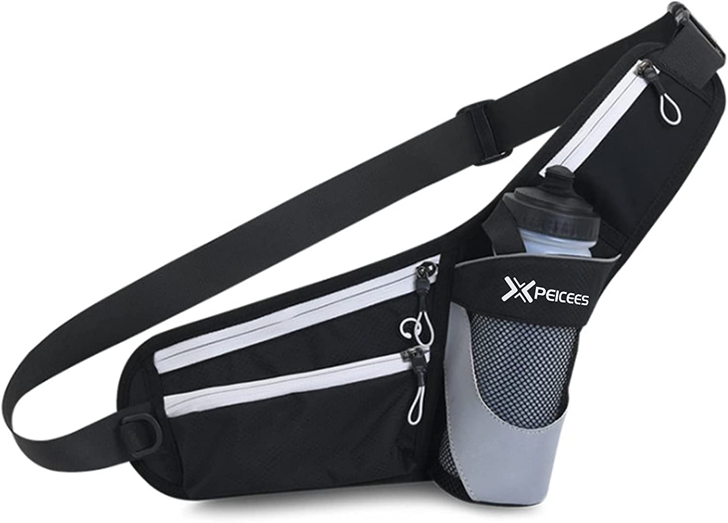 Peicees Waterproof New product! New type Fanny Pack Elegant for Men Fashionable Running Women