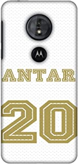AMZER Slim Fit Handcrafted Designer Printed Snap on Hard Shell Case Back Cover Skin for Motorola Moto G6 Play - Antar Jers...