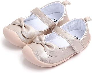 cdc18fff8cef5 LACOFIA Ballerine bébé Fille Chaussure antidérapants Premier Pas pour bébés