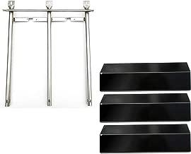 Direct store Parts Kit DG199 Replacement Sonoma CGR27, CGR27LP, CGR30, CGR30LP Gas Grill Burners & Heat Plate (SS Burner + Porcelain Steel Heat Plate)