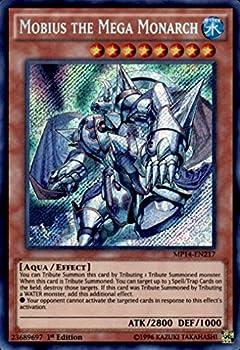 YU-GI-OH! - Mobius The Mega Monarch  MP14-EN217  - Mega Pack 2014 - 1st Edition - Secret Rare