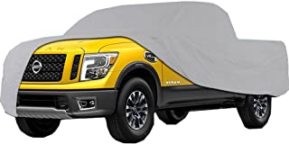 Big Ant Truck Cover All Weather Protection Waterproof Pickup Truck Cover Universal Fit for Full Size Truck with Short Bed Crew Cab up to 232