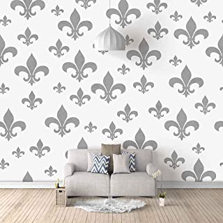 VITICP Adults Kids Wall Stickers Decals Peel and Stick Removable Wallpaper Grey Anchor for Nursery Bedroom Living Room TV ...