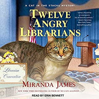 Twelve Angry Librarians audiobook cover art