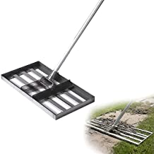 WSVULLD Golf Golf Garden Gras Grondplaat Platte Zand Gras Crusher voor Tuin Yard Golf NG, Niveau Lawn Leveler Trimmer Roes...