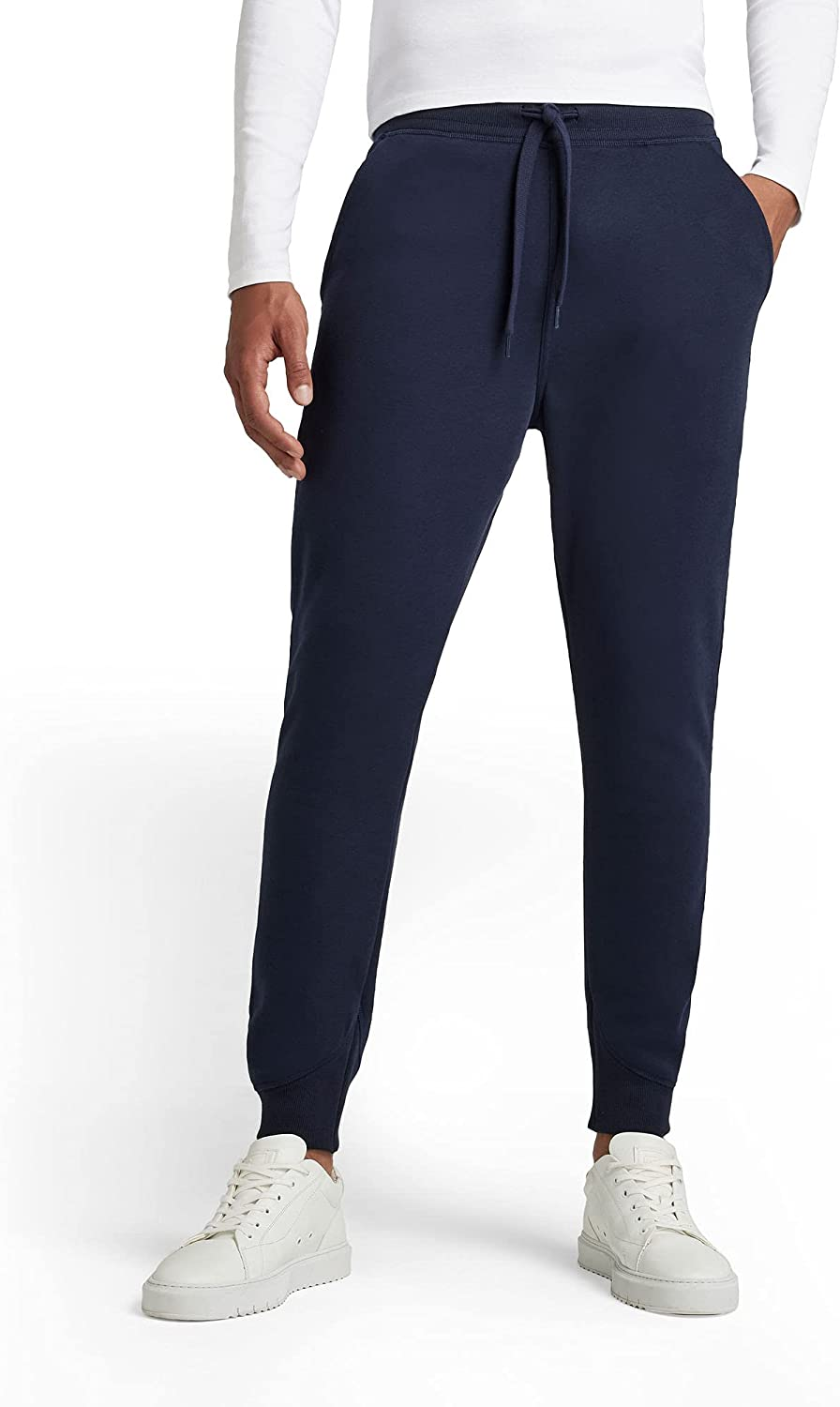 Limited time cheap sale G-Star Men's Premium Core Long-awaited Type Blue Joggers