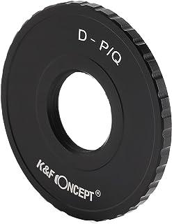 K&F Concept レンズマウントアダプター KF-DQ (Dマウントレンズ → ペンタックスQマウント変換)