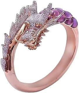 14号 龍 ラインストーン ドラゴン 竜 リング 幸運 風水 指輪 シンプル 指輪 お洒落アイテム メンズ レディース 男性 女性 男女兼用 ユニセックス プレゼント ギフト