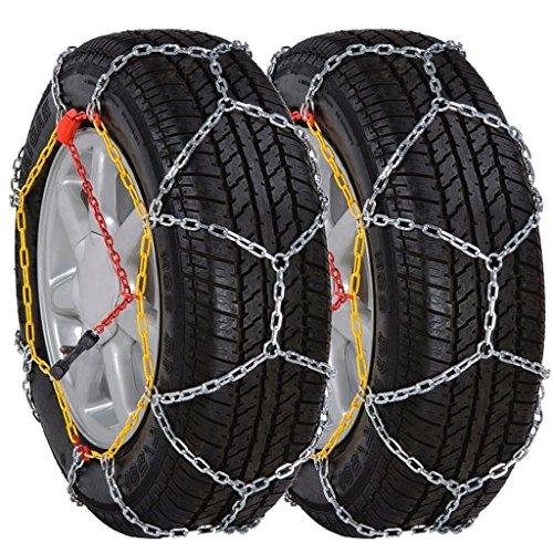 2 chaînes à neige 12 mm KN 90 205/55 16–205/65 15 205/50–17 215/45–17 – Matériau : acier carbone