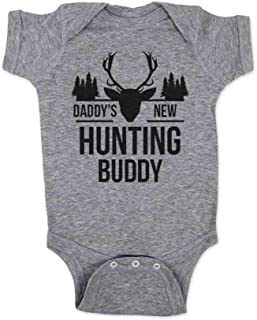 Daddy's New Hunting Buddy - Baby one Piece Bodysuit