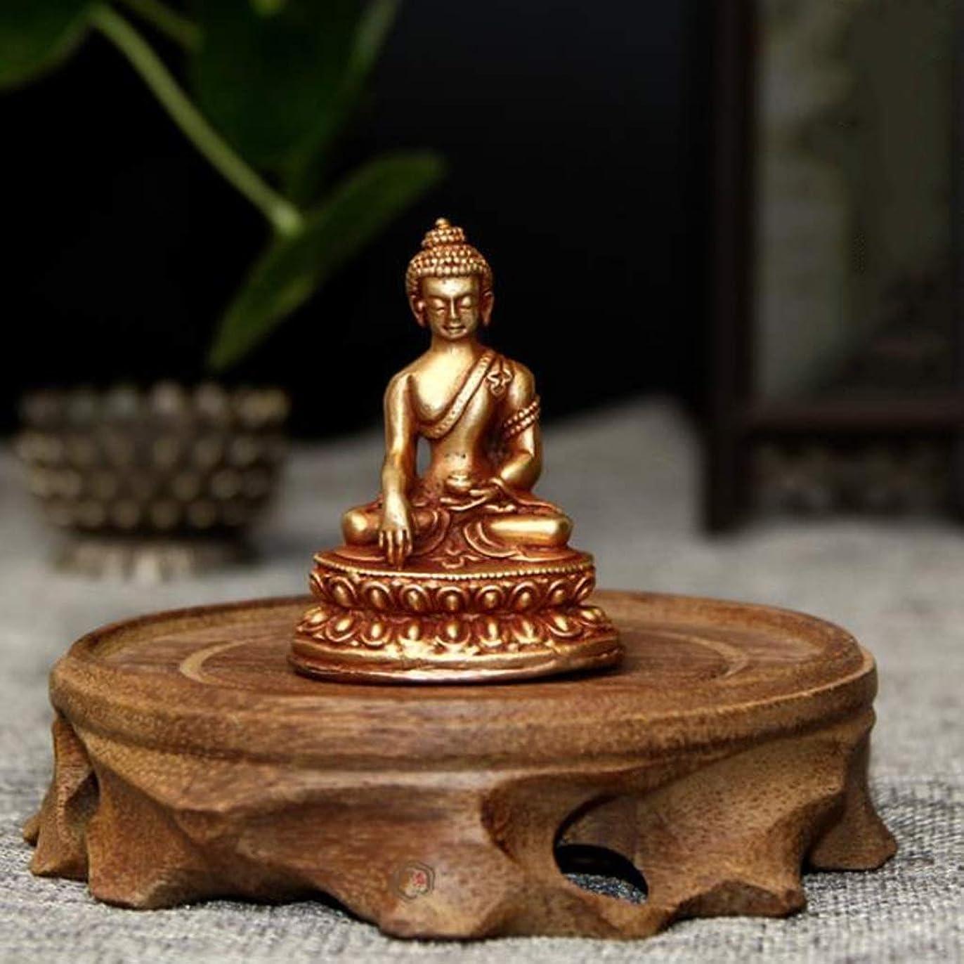 リアル好奇心悪性NTWXY ネパール仏像、純粋な銅のSakyamuni仏像、仏教の供給、タウンハウスの祝福、4×5 Cm