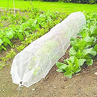 Gr/ünes Garten-Anti-Vogel-Teichnetz f/ür Pflanzenschutz sch/ützt junge Pflanzen und Ernten vor schlechtem Wetter und reduziert Sch/ädlingsauswirkungen Vogelnetz Pflanzliche Insektenschutznetz
