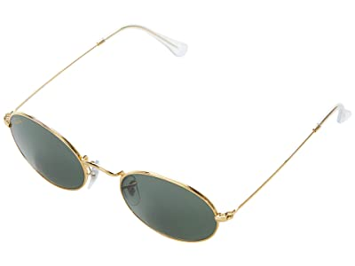 Ray-Ban 51 mm RB3547 Oval Metal Sunglasses