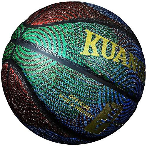 Kuangmi Fashion Cool Street Composite Leder Basketball Ball Größe 67Für Innen-Außeneinsatz