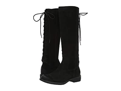 Sofft Sharnell II Waterproof (Black Waterproof Oiled Cow Suede) Women